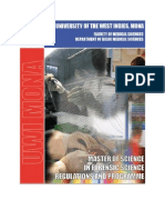 MSc Forensic Science Programme & Regulations Booklet-2011-2012