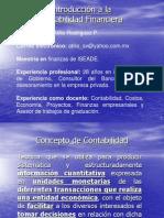 Introducción a Contabilidad Financiera Propedeutico I 2011