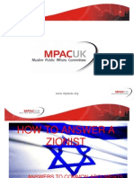 How to Rebut a Zionist