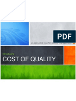 Cost of Quality Presentation