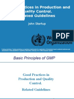 1-3 GMP Related Guidelines