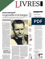 Supplément Le Monde des livres 2012.07.13