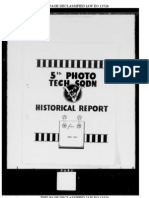 19450601 - Official History - 5th Photographic Technical Squadron - 1 June 1945
