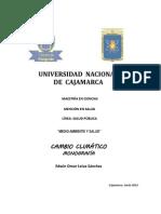 Monografia Cambio Climatico