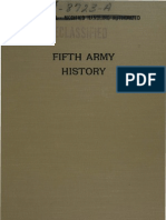 Fifth Army History - Part I - From Activation to the Fall of Naples