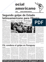 Foro Social Latinamericano, July 2012 issue
