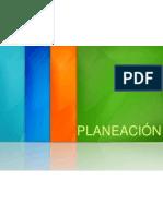 1 PLANEACION