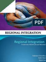 Regional Integration