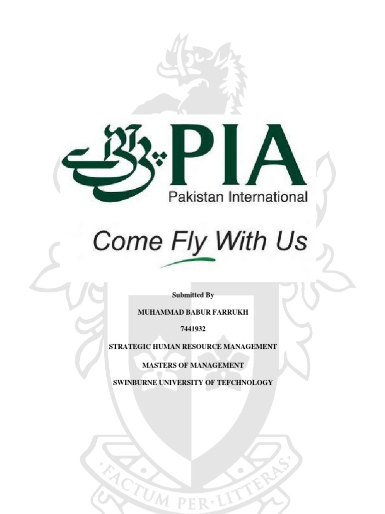 research proposal on pakistan international airlines