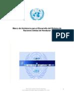 UNDAF Honduras 2012-2016