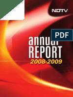 NDTV-AR-2008-2009