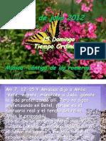 Domingo 15 Del T.O. -B- Salmo 2012