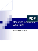 Marketing Education