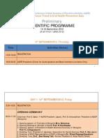 Preliminary Scientific Programme