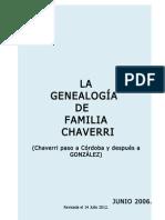 GENEALOGIA FAMILIA CHAVERRI COSTA RICA (Rev Julio 2012)