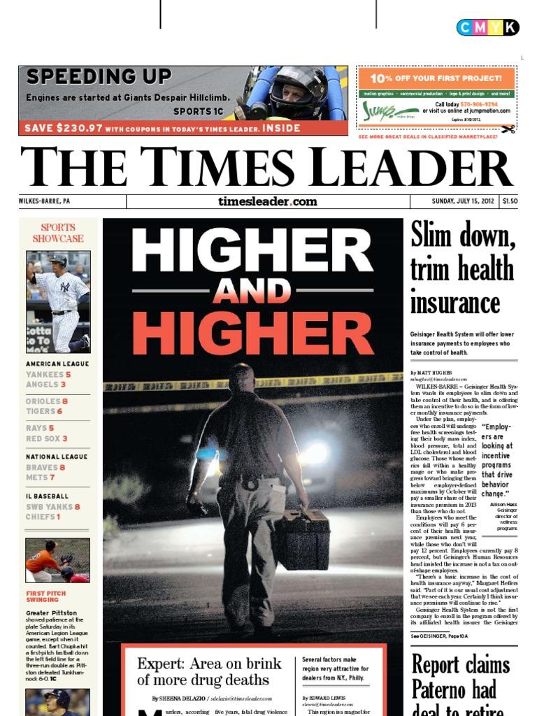Times Leader 07 15 2012