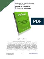 The Top 10 Secrets of NLP Coaching Language