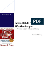 7 Habits of Highly Effective People - Notes
