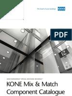 KONE Mix and Match Component Catalogue