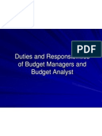 Duties and Responsibilities1