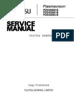 Fujitsu PDS4208 PDS4209 Service Manual