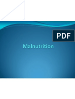 Biology Presentation (Malnutrition)