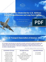 Consumers 2011 Air Transport Association US Airlines