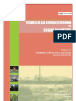 EIA Guidelines Sugar Industry 2010
