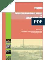 EIA Guidelines Sugar Industry 2010