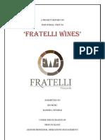 Final Fratelli Report