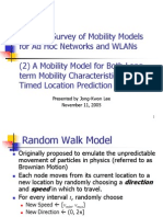 Mobility Model By Lewis