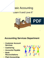 Basic Accounting Presentation