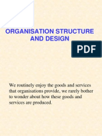 Organisation Structure and Design