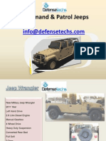 Presentation Vehicles Defensetechs