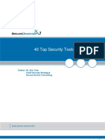 40 Top Security Tools