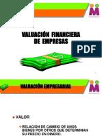 VALUACIÓN FINANCIERA DE EMPRESAS