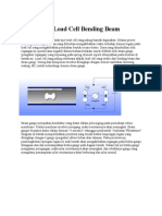 Cara Kerja Load Cell Bending Beam