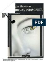 Simenon Georges - La Mirada Indiscreta