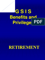 GSIS Benefits & Privileges