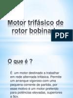 Motor trifásico de rotor bobinado