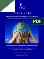 Programma CIMA 2012 - X Festival Interazionale di Musica CONCERTI IN MONTE ARGENTARIO