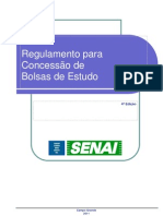 94 Regulamento Para Concessao de Bolsas de Estudo Do Senai Dr Ms