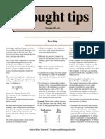 Leaching - Drought Tips