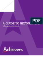 Achievers Whitepaper Recognition Handbook