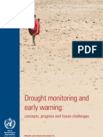 Drought monitoring and early warning