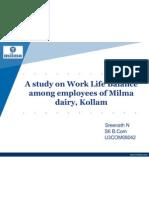 Work Life Balance in Milma