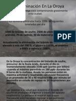 Contaminación En La Oroya