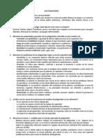 Plaguicidas - Cuestionario