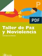 Taller Paz y Noviolencia