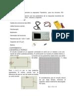 Respuesta transitoria de circuitos RC
